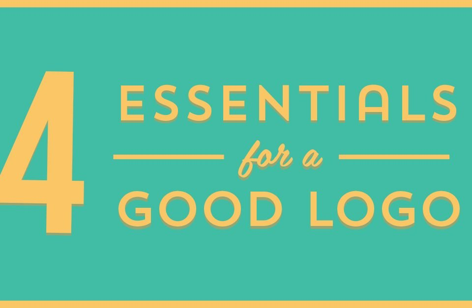 "Blog Header image for ""Four Essentials for a Good Logo"""