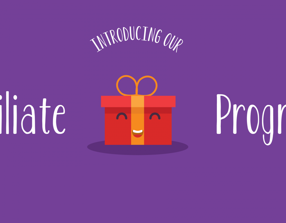 "Blog Header Image for ""We're Launching an Affiliate Program"" Blog"