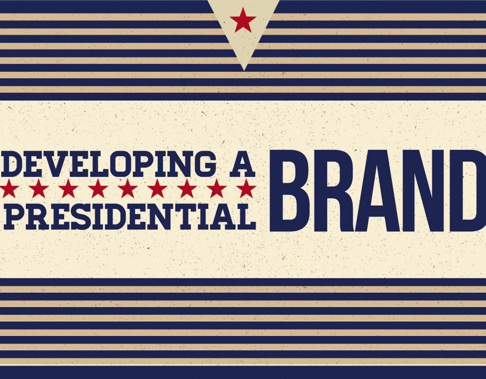 "Blog Header Image for ""Developing a Presidential Brand"""