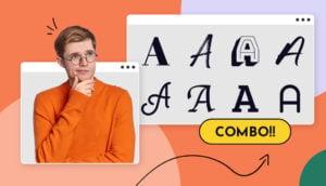 Header font combinations