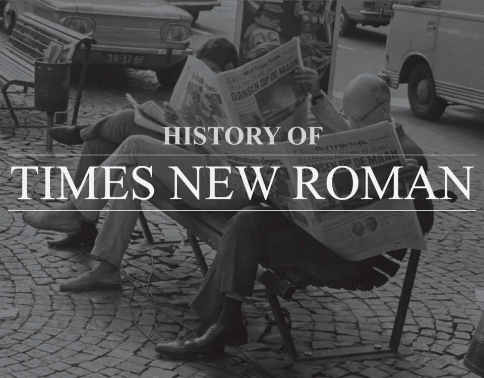 "Blog Header Image for ""History of Times New Roman"""
