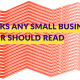 "Blog Header Image ""7 Books Any Small Business Owner Should Read"""