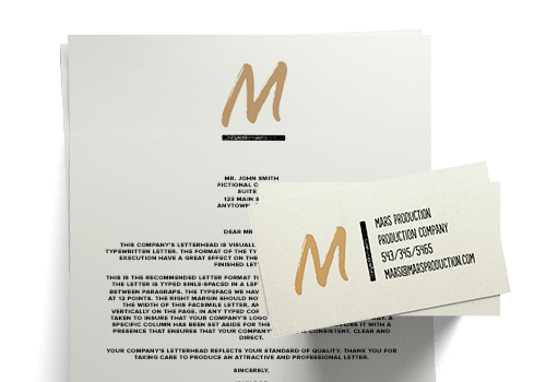 Design business cards letterheads and other prinatbles tailor brands examples of business cards colourmoves
