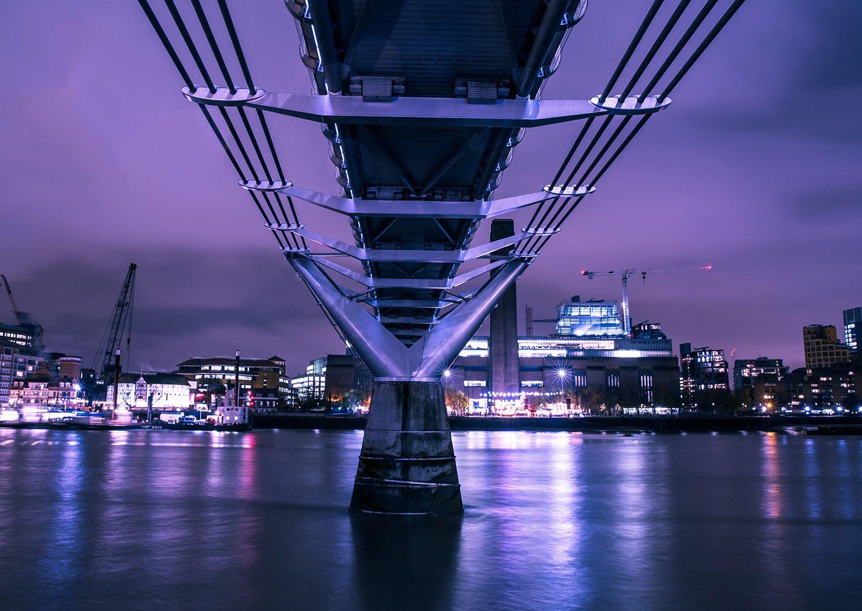 Stock image under a bridge by ISO Republic