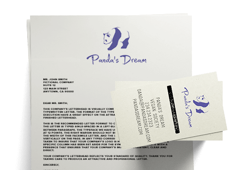 design business cards letterheads and other prinatbles tailor brands