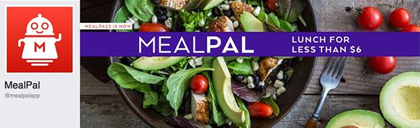 MealPal's Branded Facebook Images