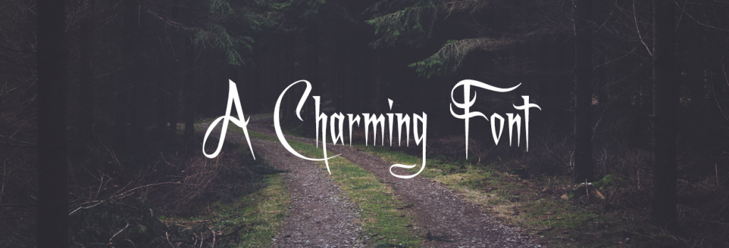 Font Example - A Charming Font