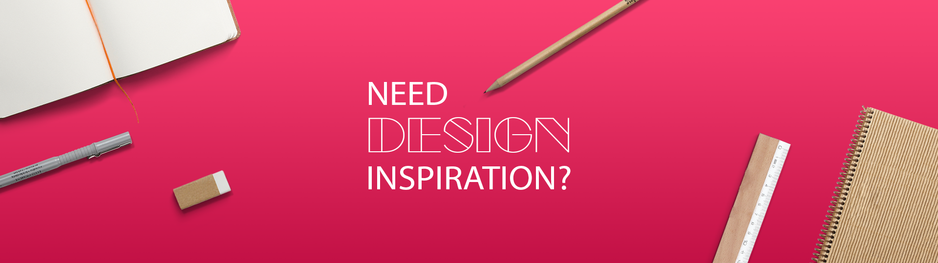 "Blog Header Image ""Need Design Inspiration?"""