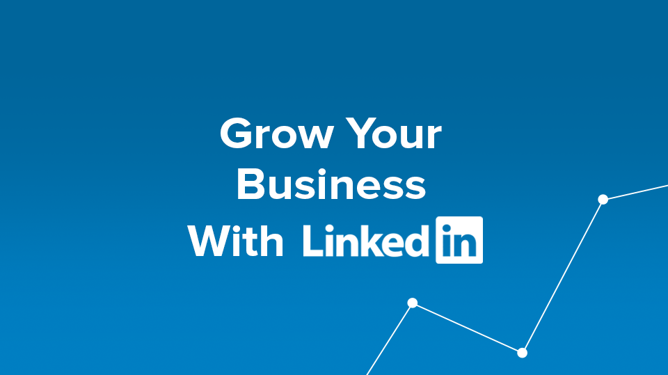 "Blog Header Image ""Grow Your Business With LinkedIn"""