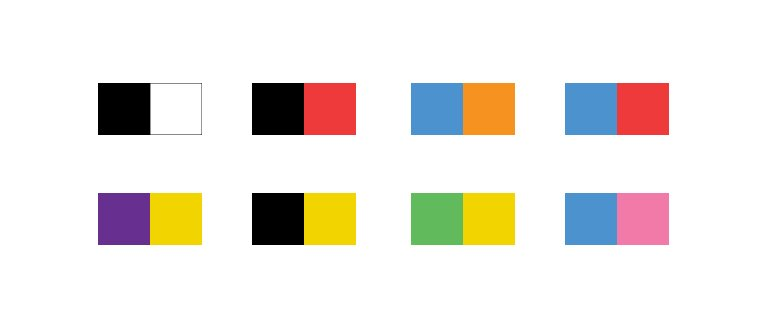 Image of color combinations