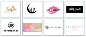 Cosmetics Blogs Logos