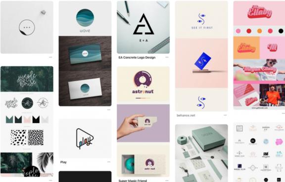 Pinterest- exemplos de logo