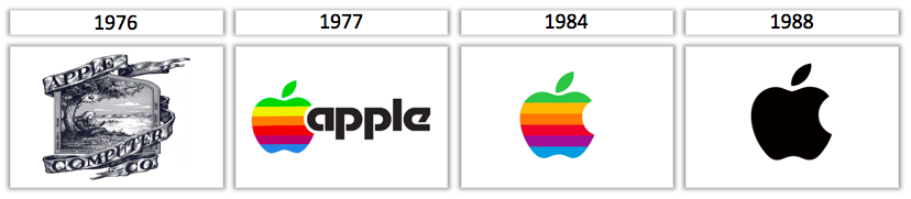 Images of apple logos