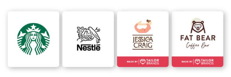 illustrative abstract logos
