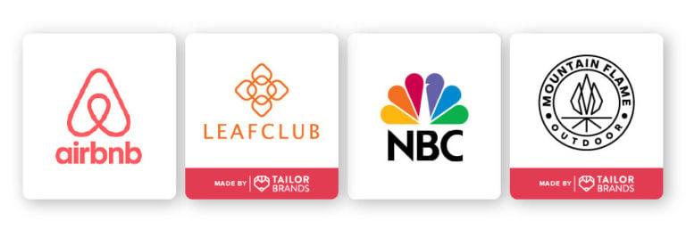 symmetrical abstract logos