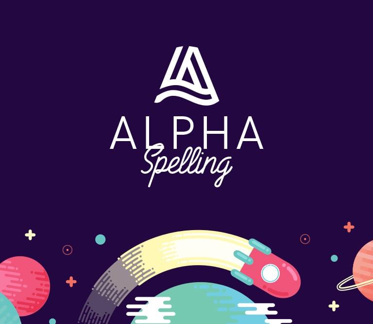 Alpha Spelling Logo