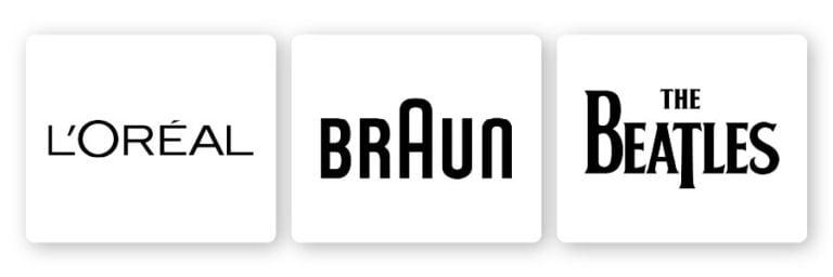 loreal braun beatles logo