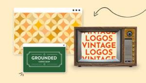 header vintage logos