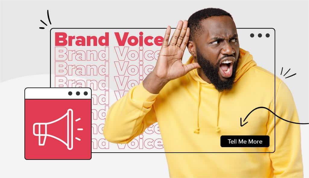 Brand voice header image