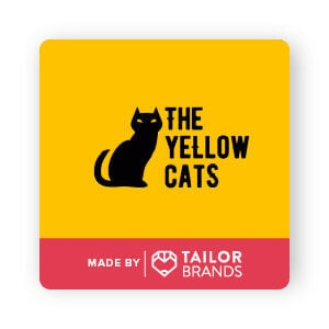 the yellow cats logo