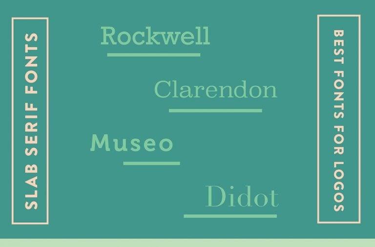 Fuentes slab serif