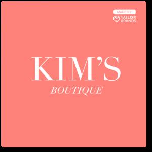 esempio di logo - Kim's boutique