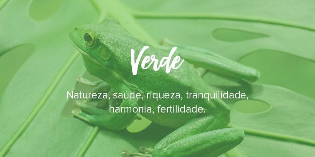 Significado de cor verde