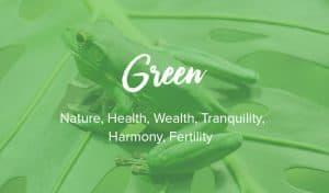 significato di colore verde