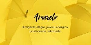 Significado de cor amarelo