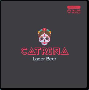 Catrina Beer Logo