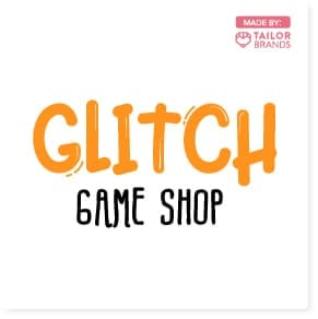 Glitch Game Logo