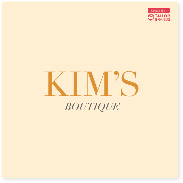kim's boutique jewelry logo