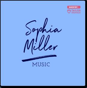 sophia miller music logo