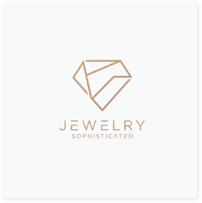 sophisticated jewelry logo