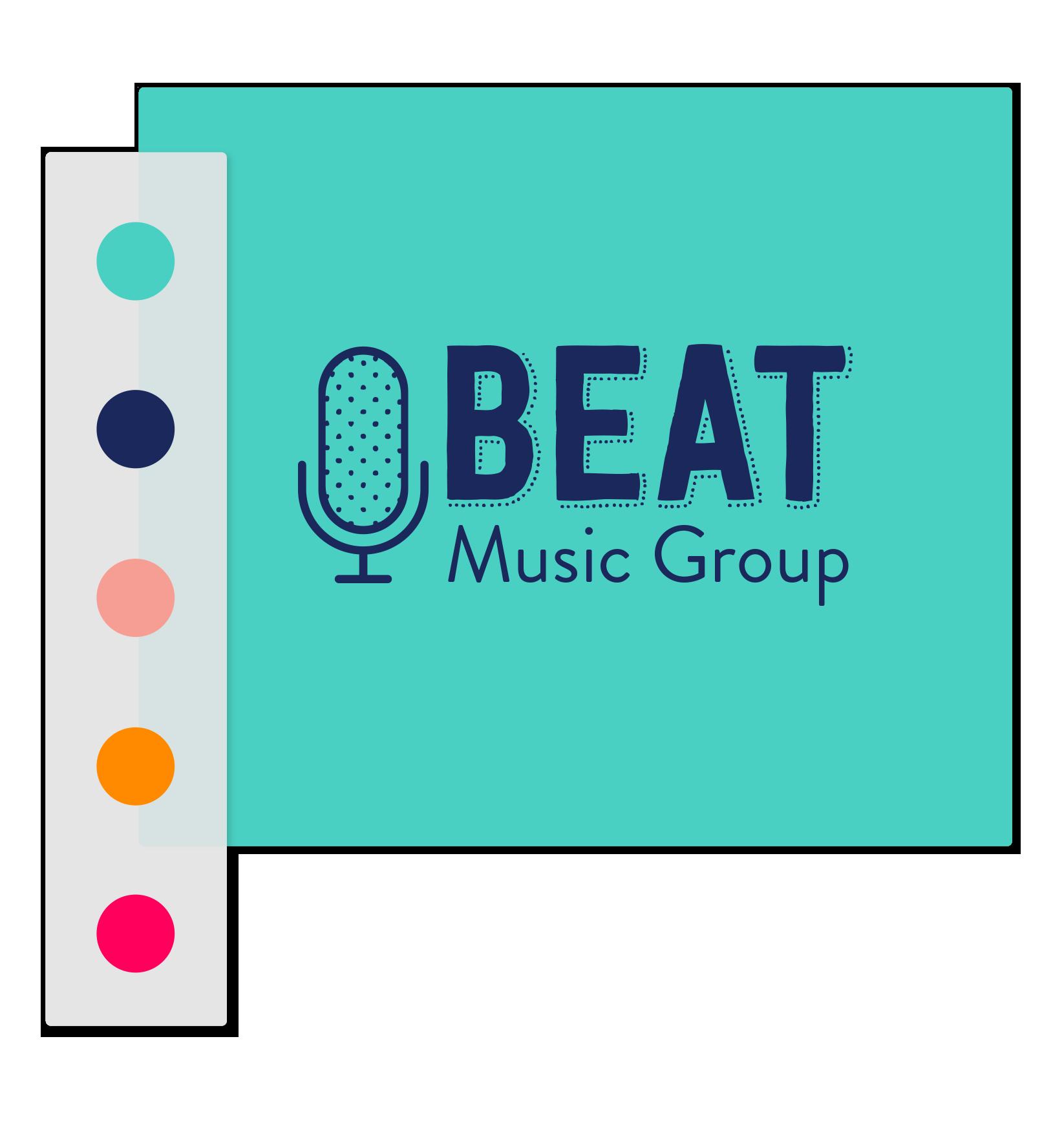 music logo colors