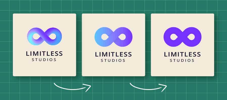 logo redesign process