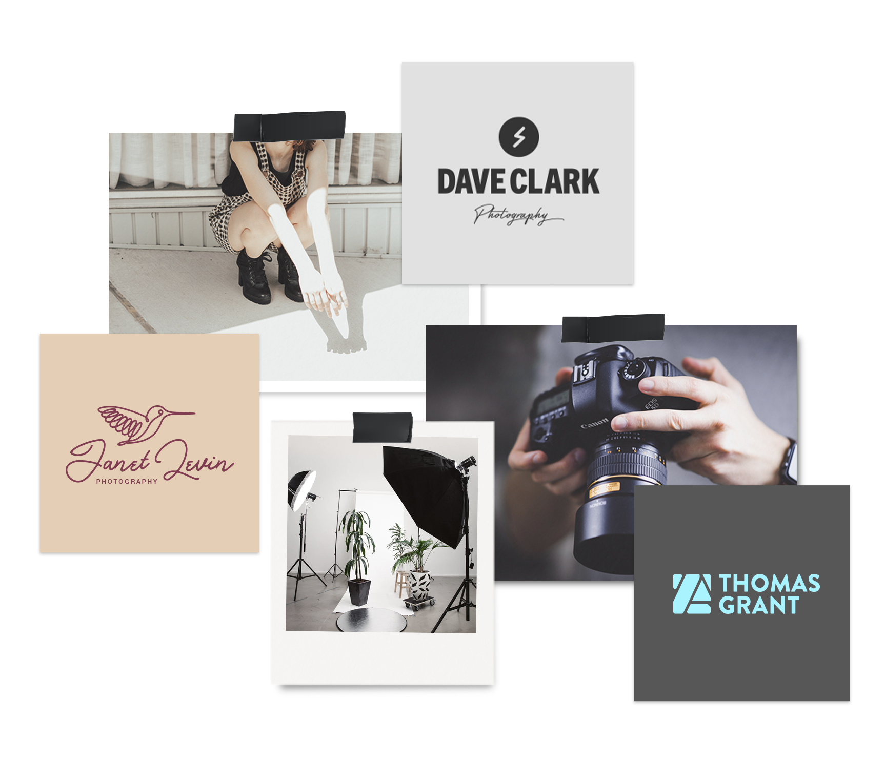 Photography Logo Maker Create A Logo Design In Minutes Tailor Brands