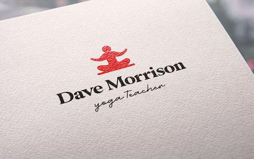 Fitness logo ideas - yoga teacher