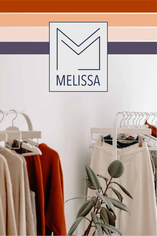 Melisa boutique logo