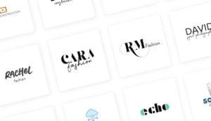 modernes Logodesign header