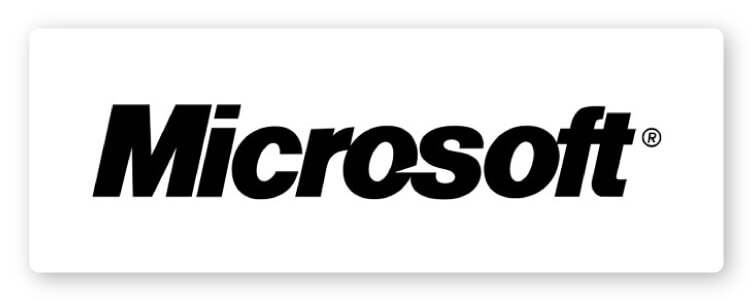 Microsoft fourth logo design