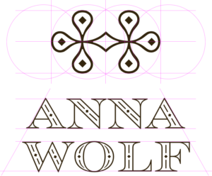 fashion logo layout