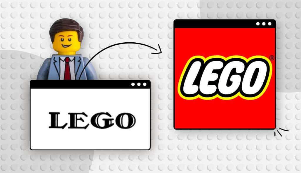 Header Lego logo