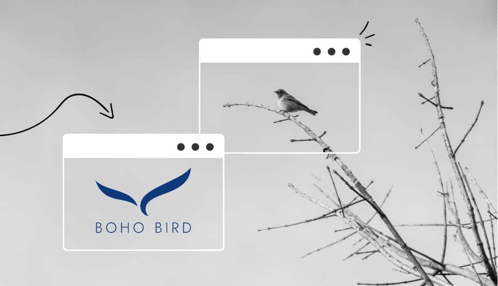 Minimalist logos header