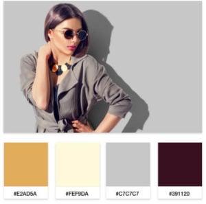 fashion blog color palette