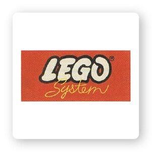 lego logo 1960-1964