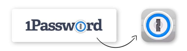 1password app logo
