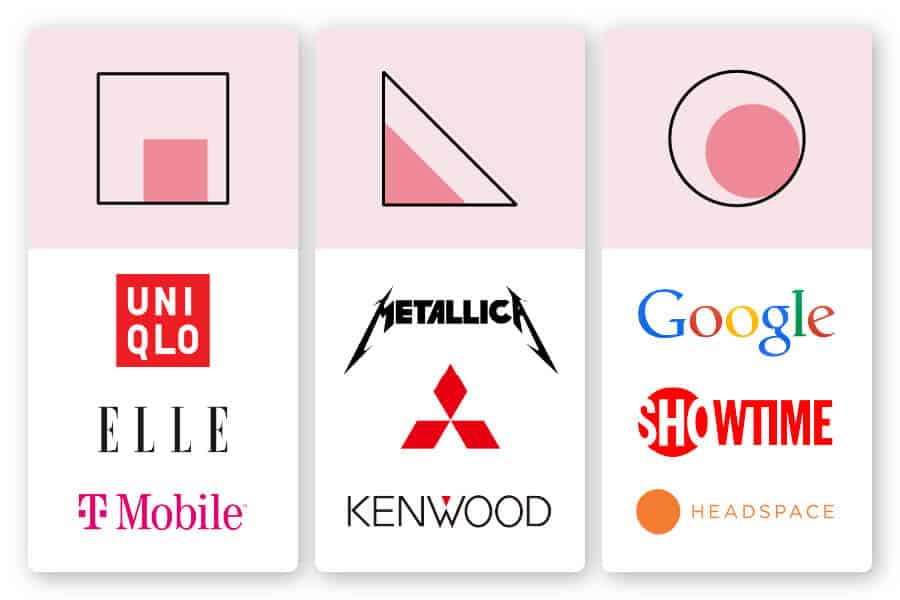 how to apply logo shapes