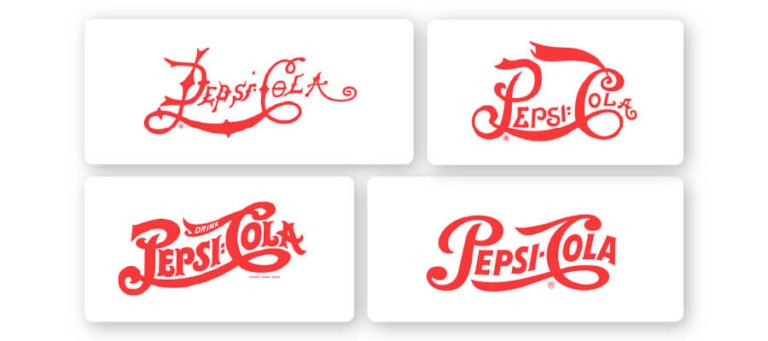 1898-1940 pepsi logo