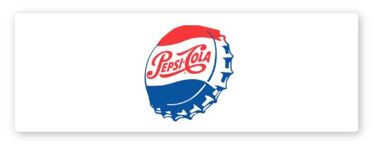 1950 pepsi logo